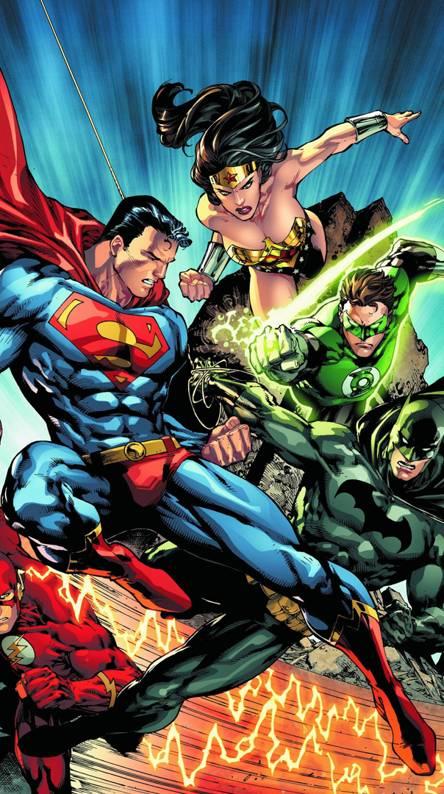 Justice League Paper