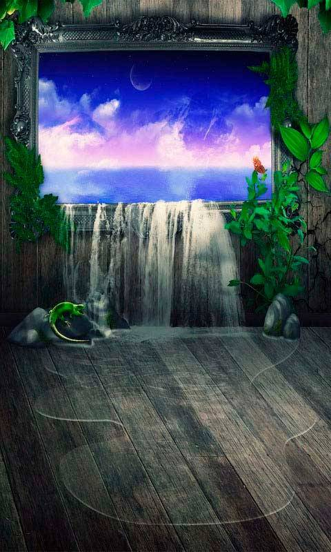 3d waterfalls