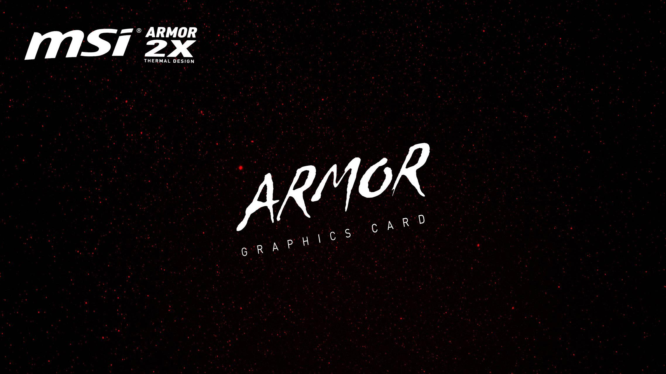msi armor