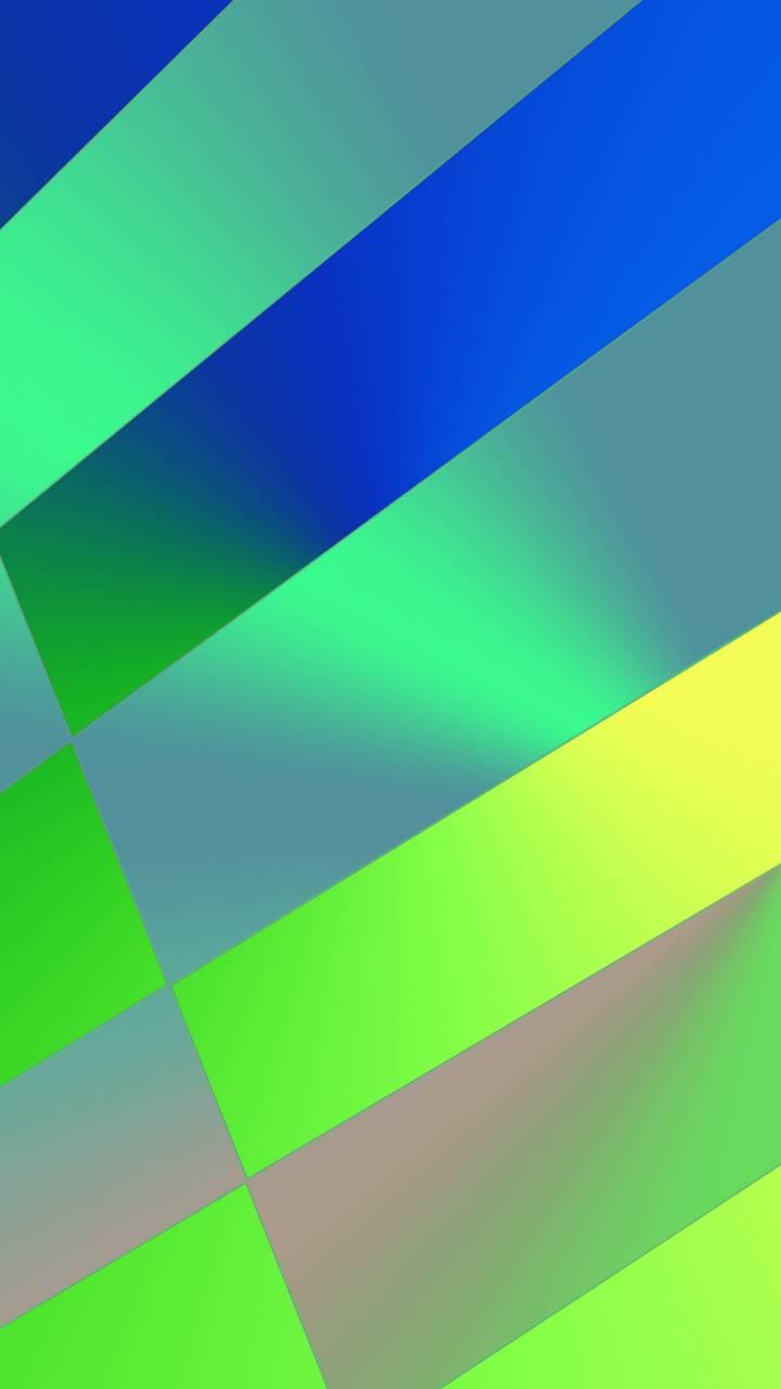 pattern green blue