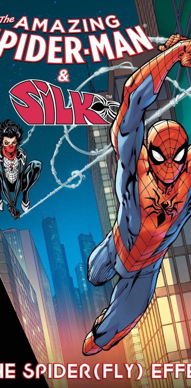 Spider-Man and Silk