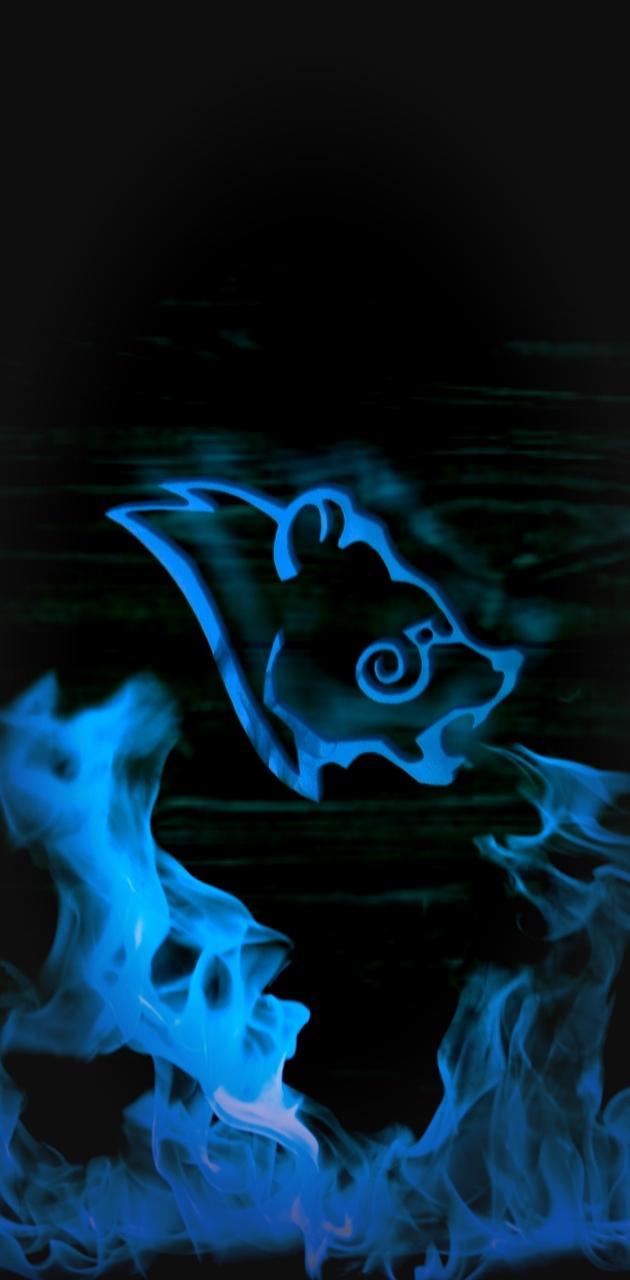 Stormcloak Fire Blue