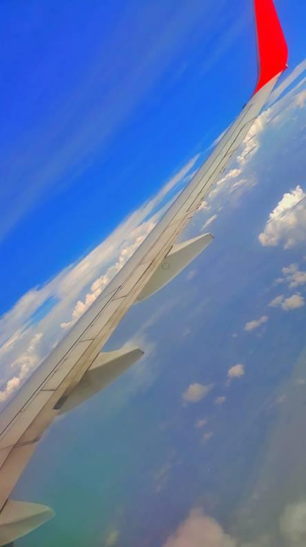 Top of sky