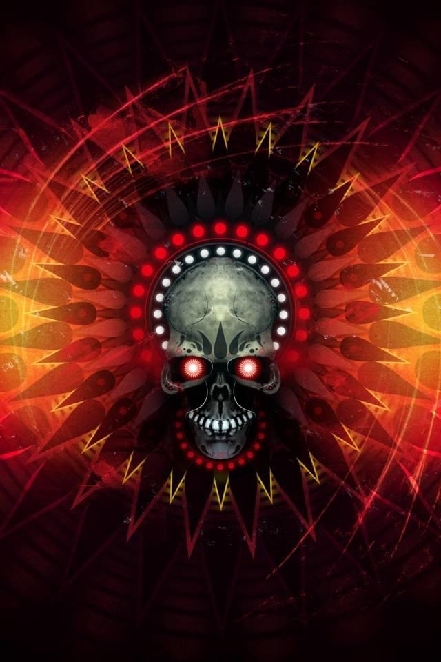 Fire Skull Wallpaper By Skateboy B7 Free On Zedge