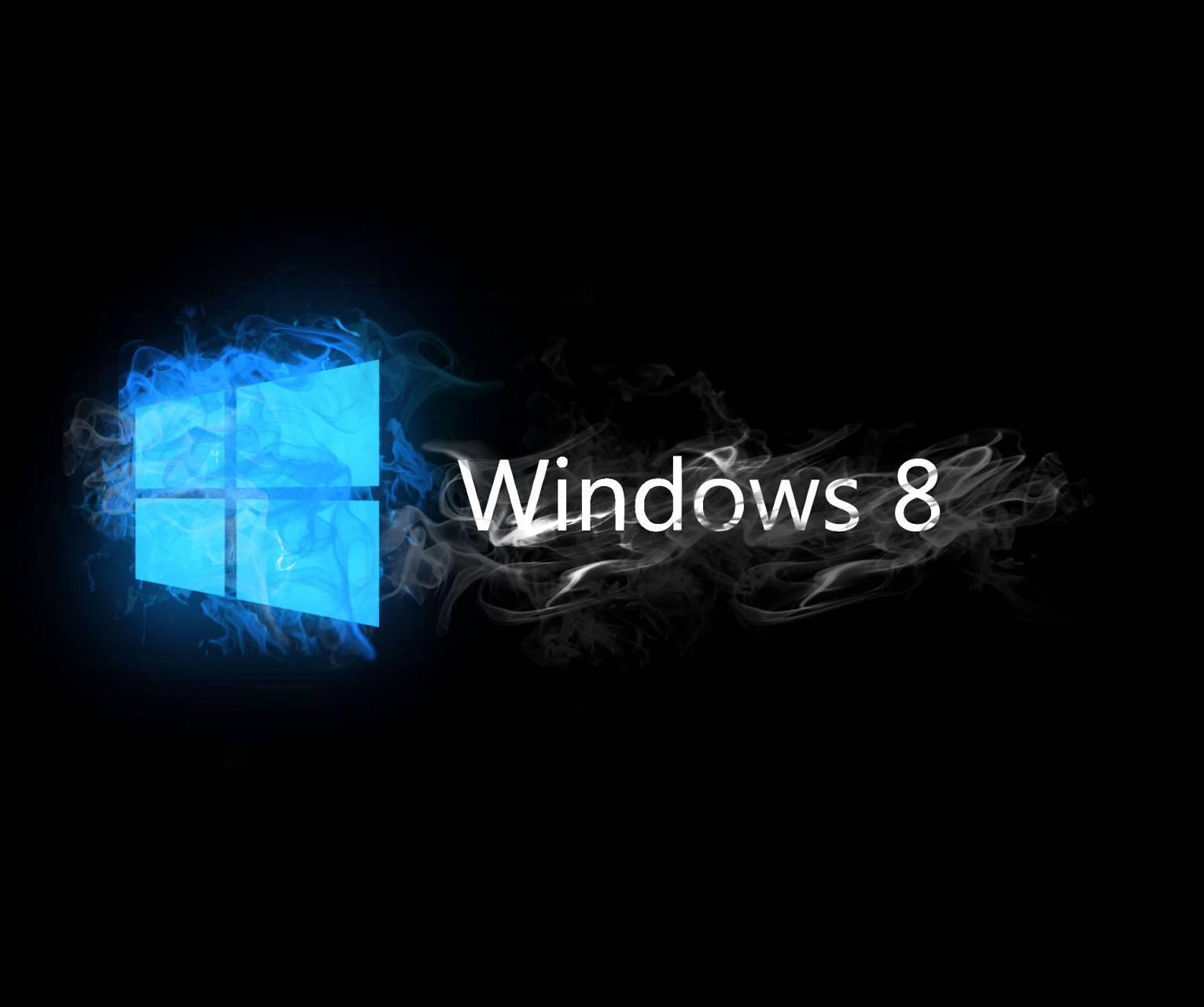Blue Windows 8