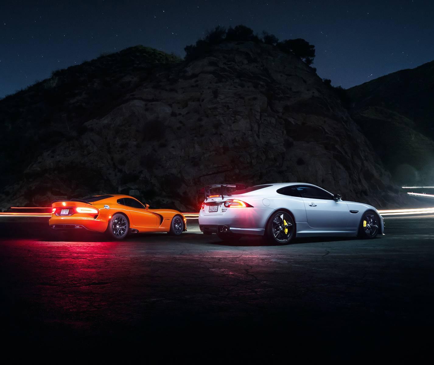 Dodge and Jaguar