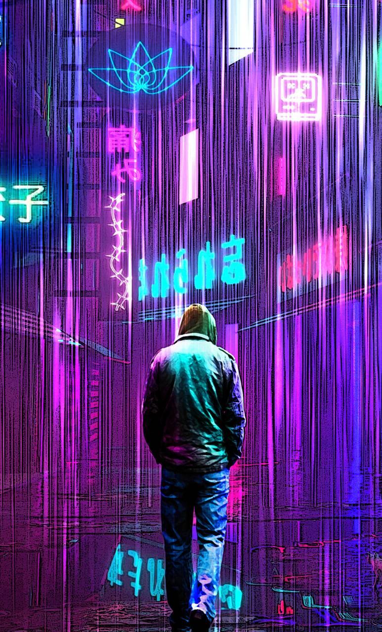 Cyber City Wallpaper By Sadmixtape F2 Free On Zedge