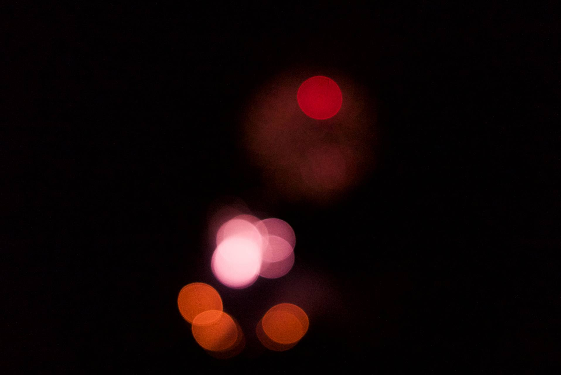 Blury Red Orange FW