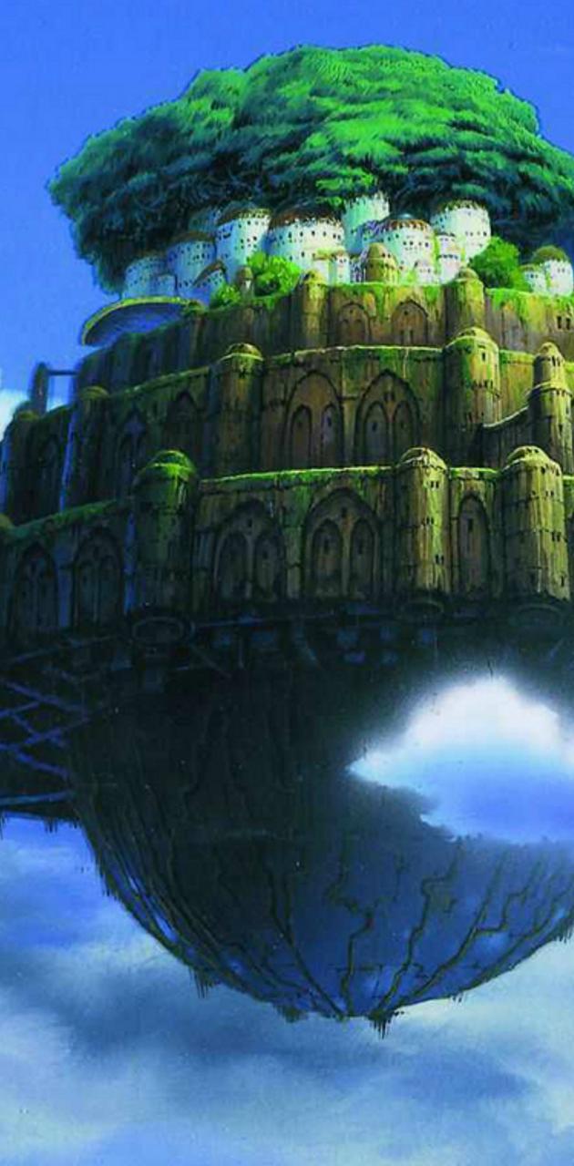 Laputa castle
