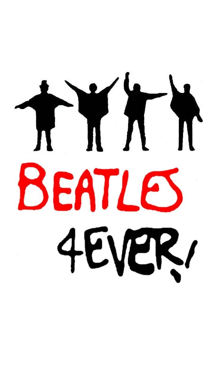 Beatles 4Ever White