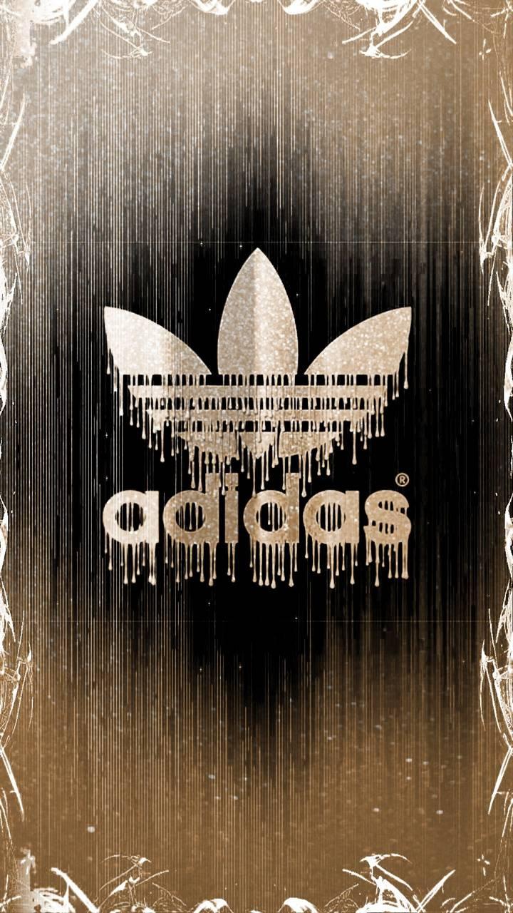 Gold adidas