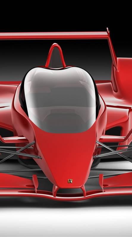 F1 Red Car