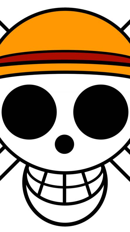 One piece Luffy Logo