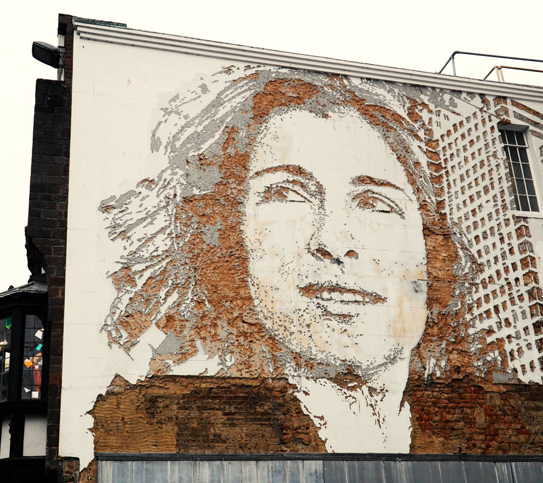 Brick portrait