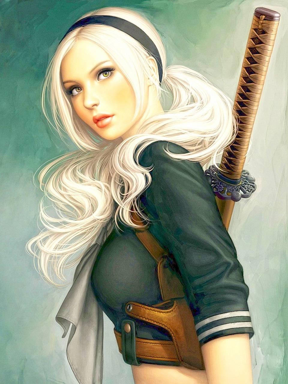 Fantasy Girl Wallpaper By Hende09 6e Free On Zedge