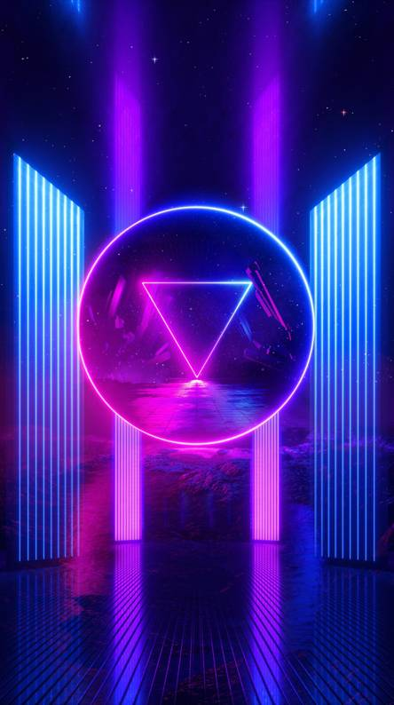 Cool vaporwave