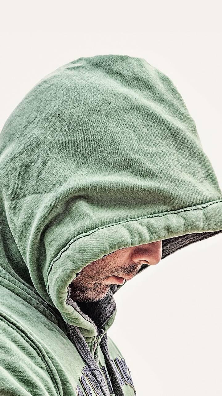 hoodie man