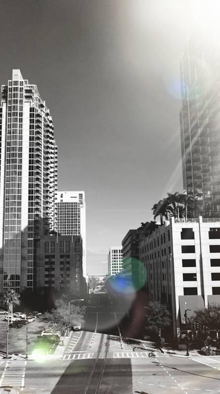 Downtown shine
