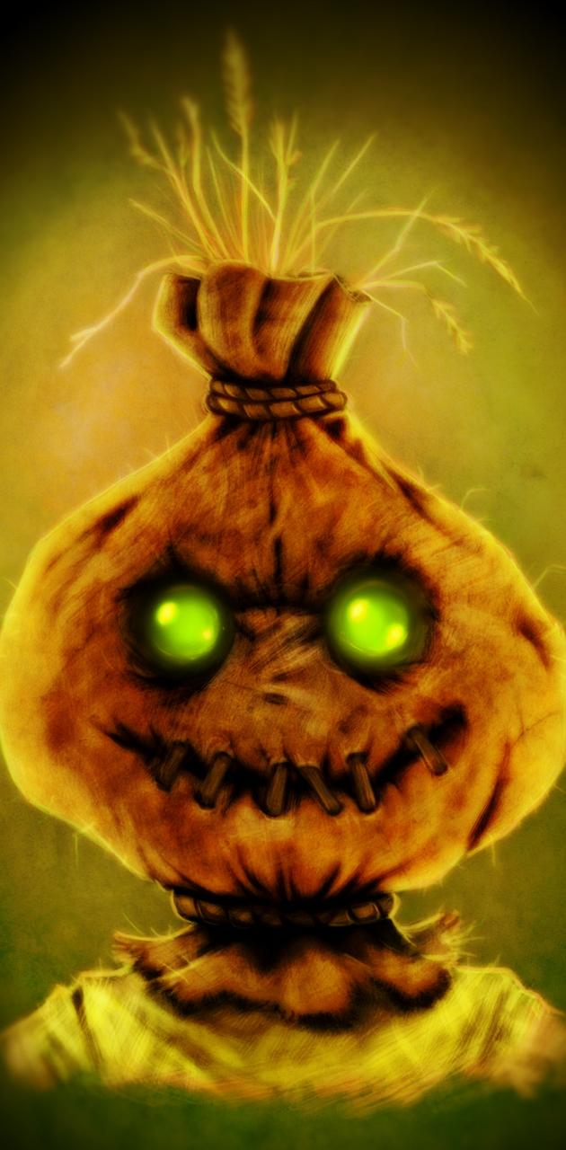 Glowing Scarecrow