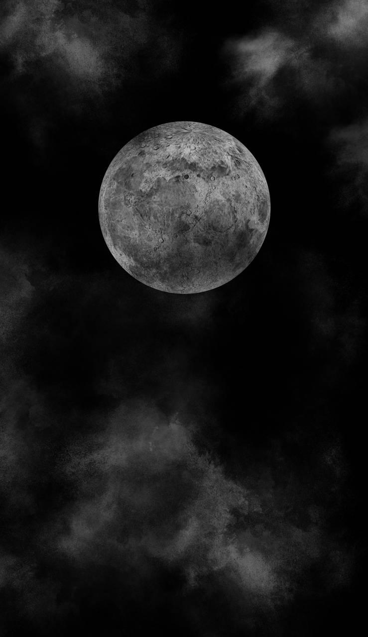 Dark Full Moon Wallpaper By Agfct 2b Free On Zedge
