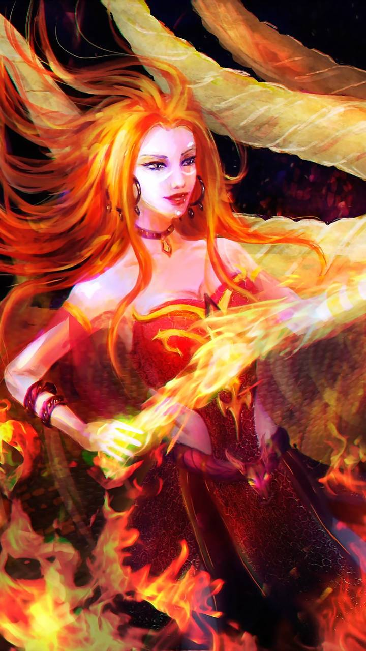 Lina Fire Dragon