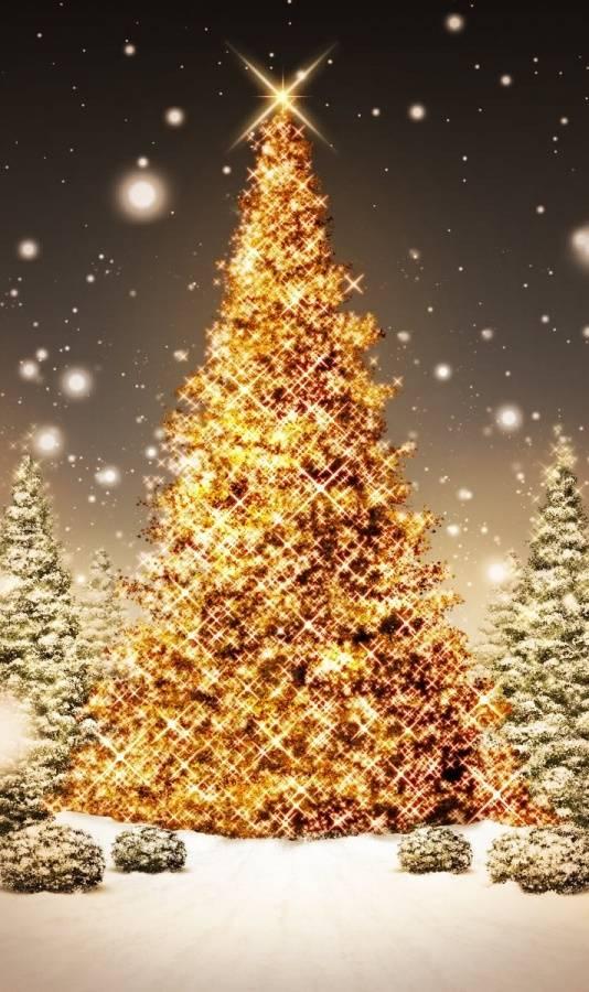 Golden Xmas Tree