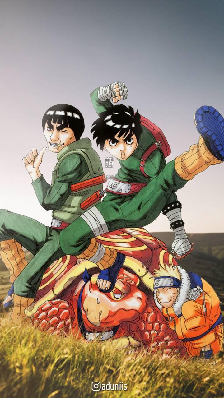 Rock lee and Naruto