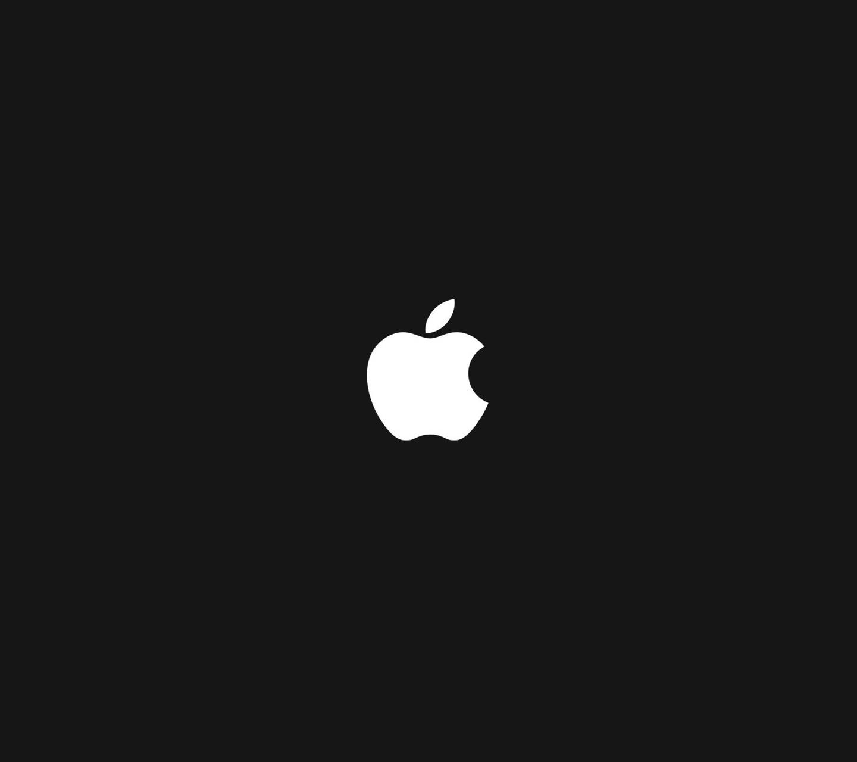 simple apple logo