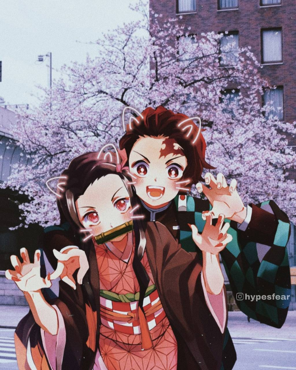 Tanjiro and Nezuko