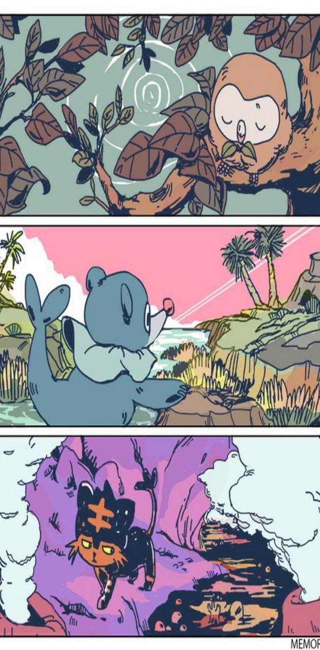 Pokemon SuMo starter