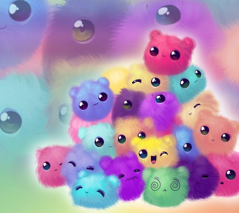 Cute pompoms animals