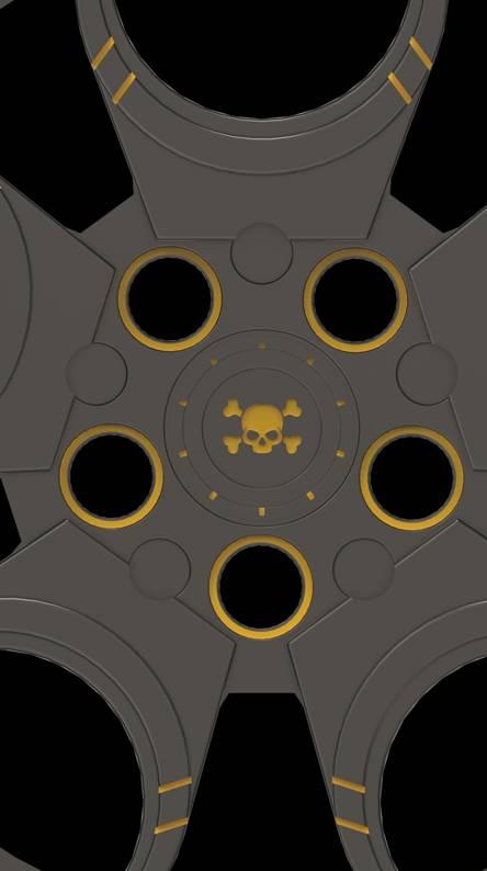 skull rim
