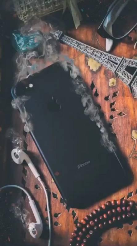 Smoked iphone