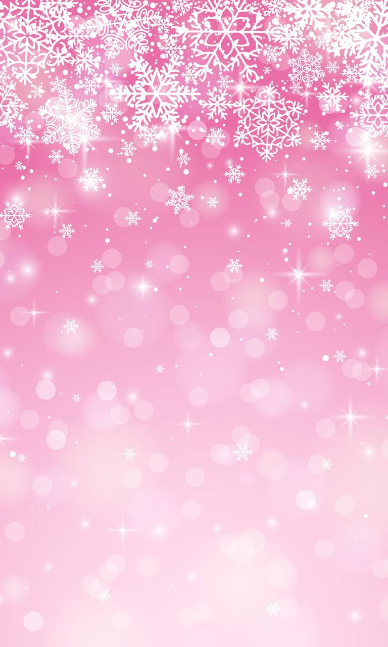 Pink Christmas Wallpaper By Goodfellagrl