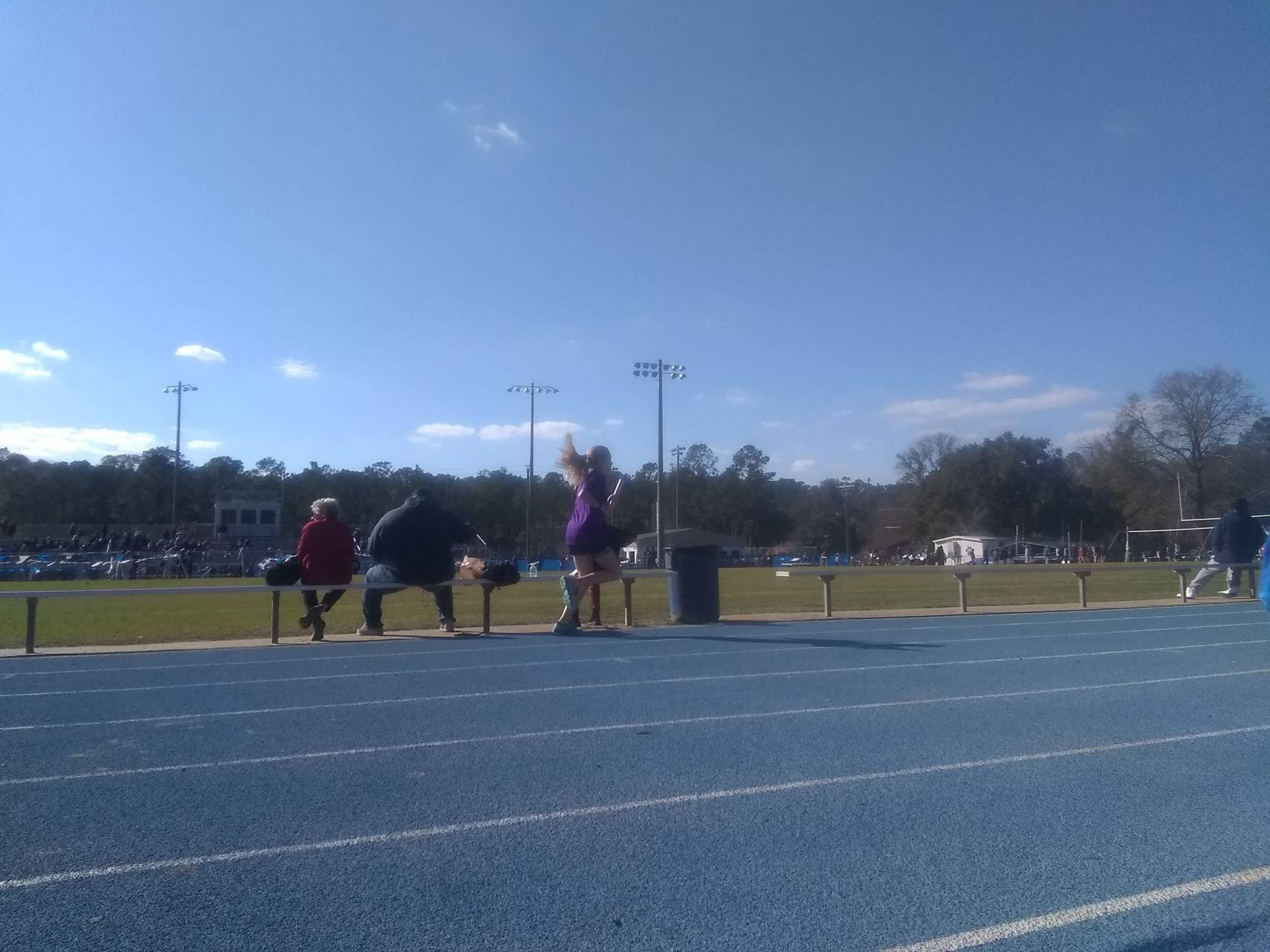 Track running