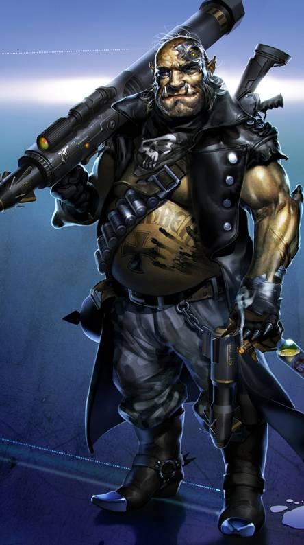 Orc Street Samurai