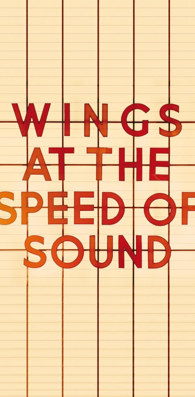 Wings Speed Of Sound