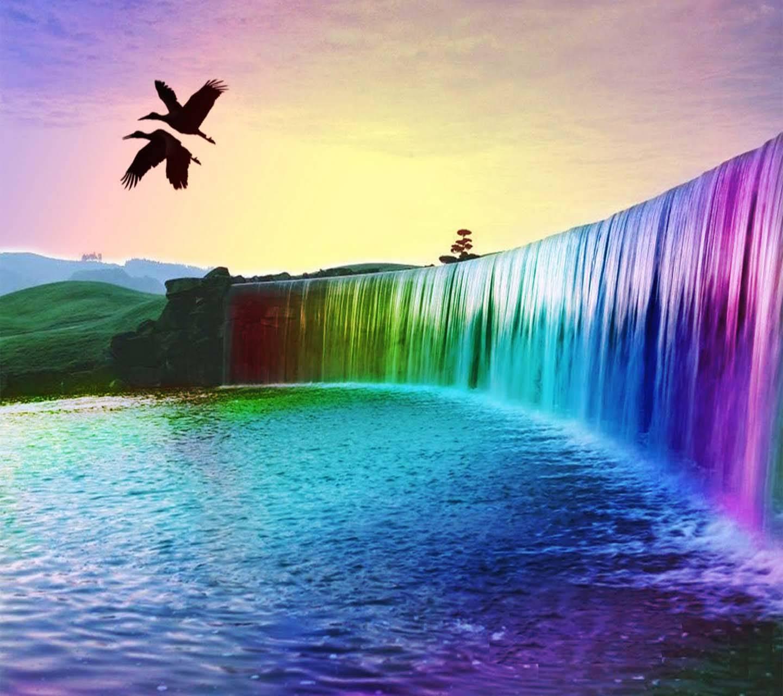 Hd Colour Waterfall