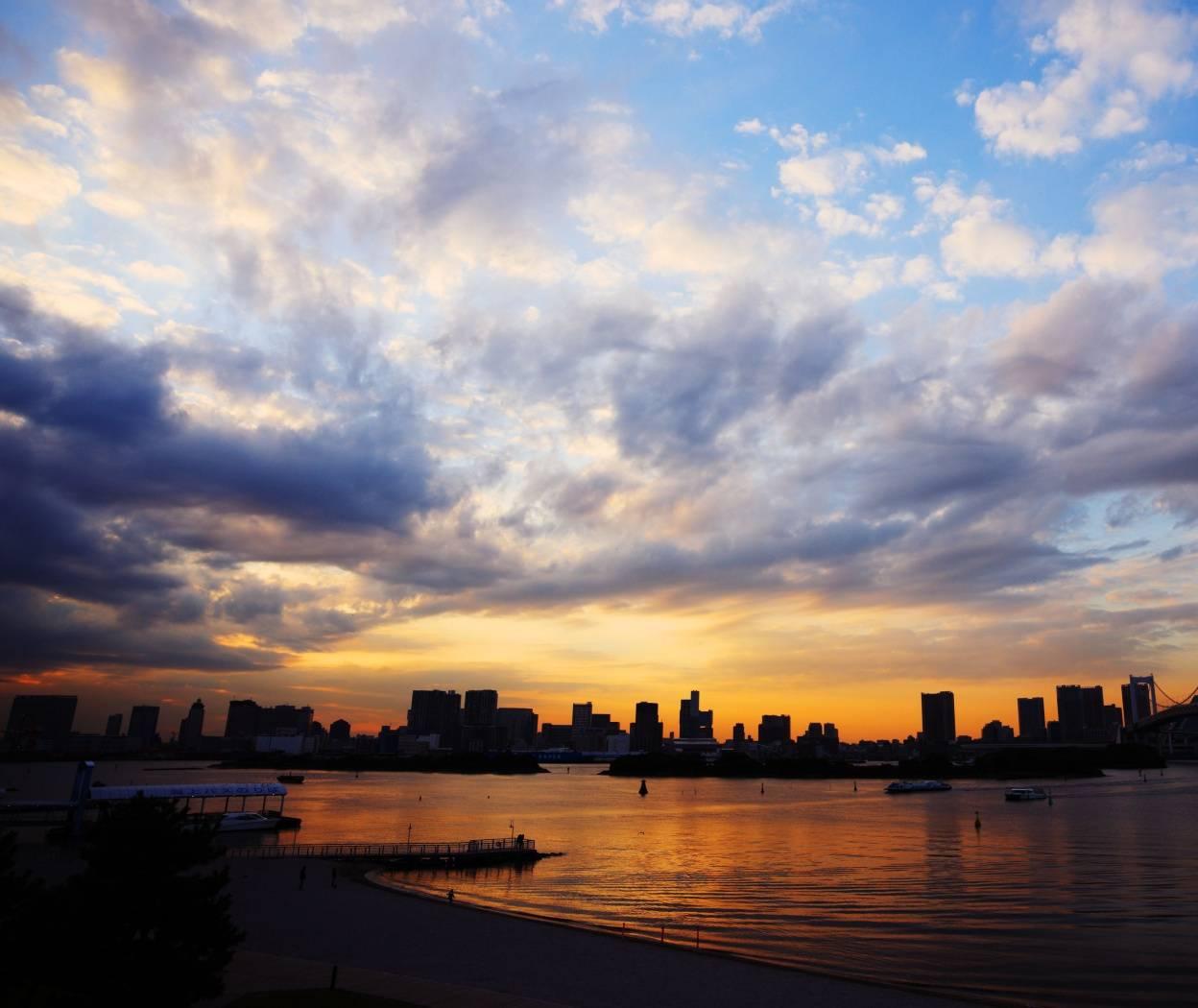 Tokyo At Sunset Hd