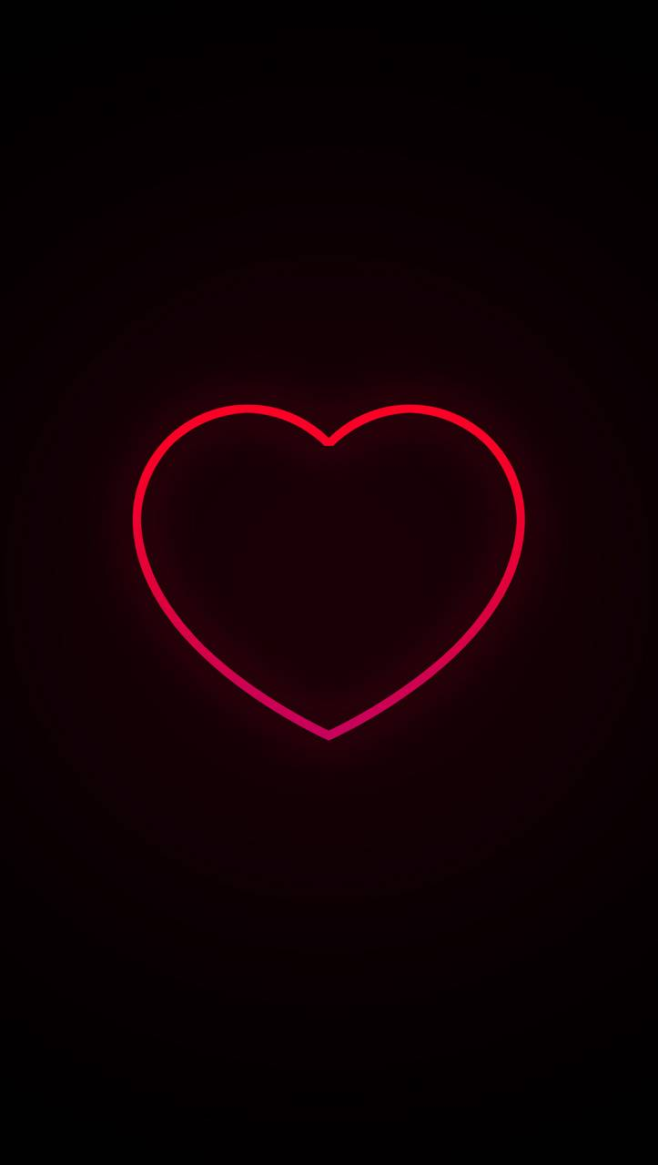 Neon Heart Wallpaper By Thejanove 6a Free On Zedge