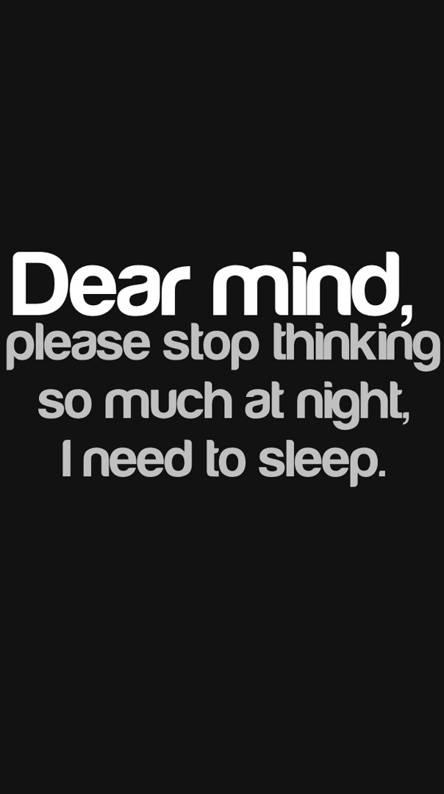 dear mind