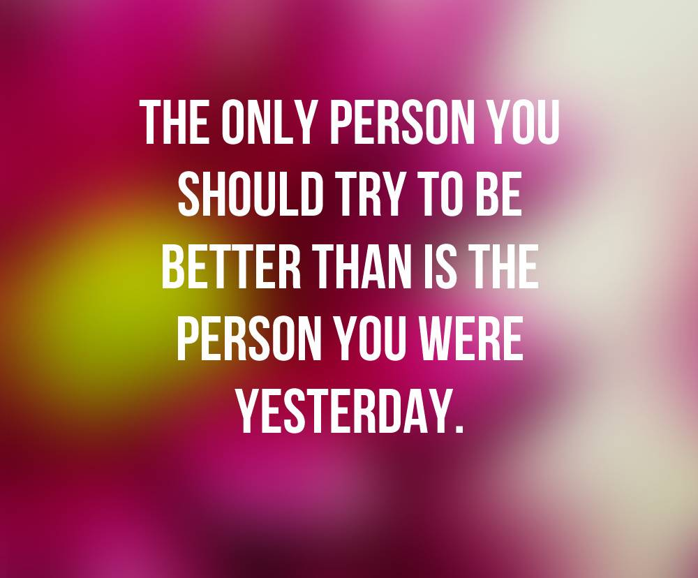 Better Person Quote