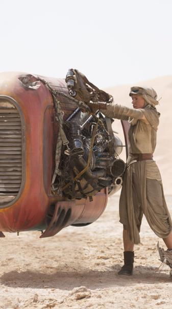 Rey the scavenger