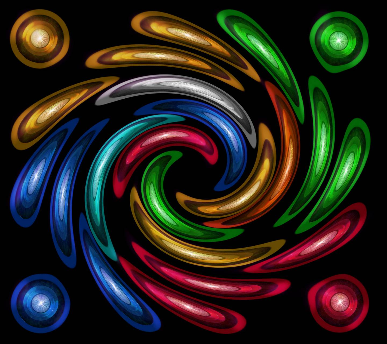 Colorful Twirl 9
