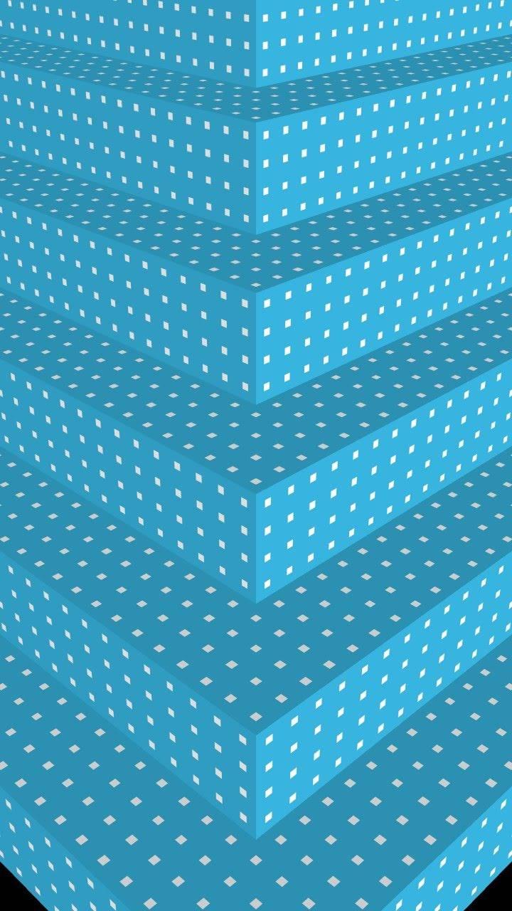 Aqua-White Steps 11