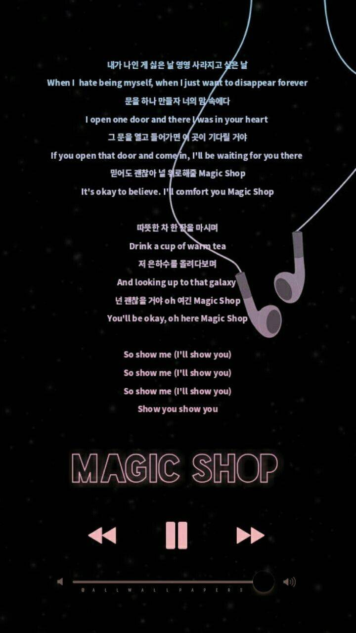 BTS magic shop