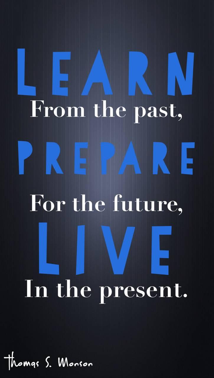 Learn prepare live
