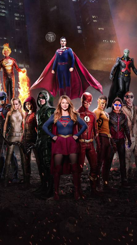 The Heros of DC tv