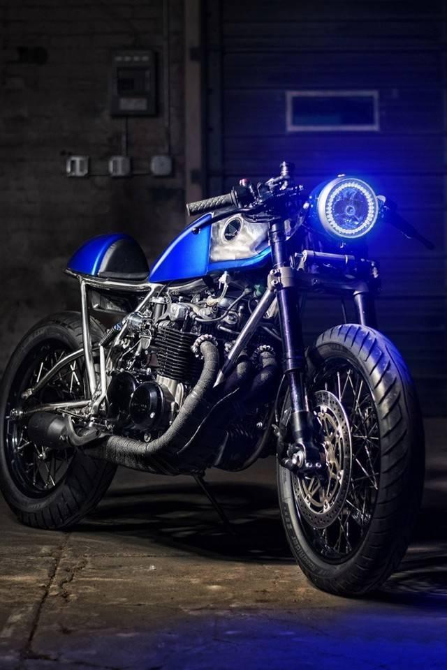 Honda Retro Blue
