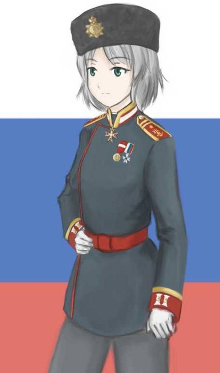 Army anime Russia